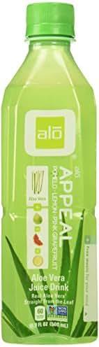 Alo Bev Aloe Pomelo Grape fruit, 16.899999999999999 Ounce (pack Of 12)