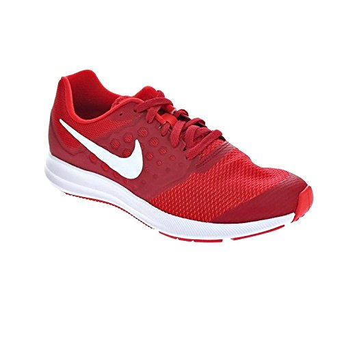 Nike Downshifter 7 Gs, Chaussures de Running Fille, Rouge (Univ Red/White/Tough Red/Black), 36 EU