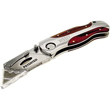 reliable Bessey Folding Utility Knife