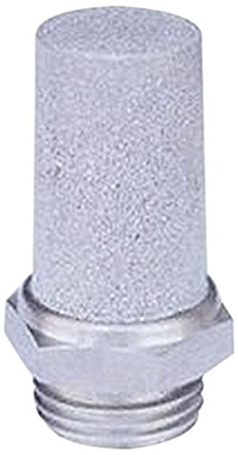 MettleAir SSL-N02 Pneumatic Cone Muffler Filter, Stainless Steel, 1/4'' NPT (Pack of 10) by MettleAir