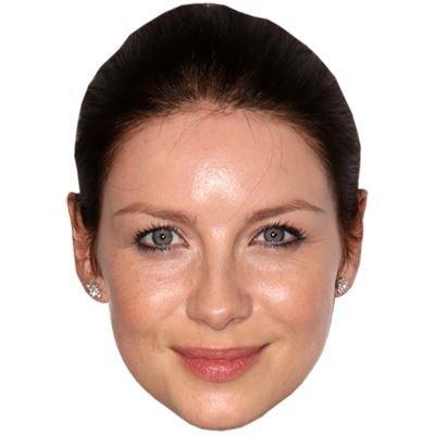 Caitriona Balfe Celebrity Mask, Cardboard Face and Fancy Dress Mask