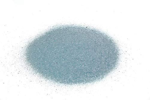 Galaxy Dust Crystal Aqua Blue 1lb - Crushed Glass for Arts and Crafts, Glitter, Snow Globes, Fairy Gardens, Terrarium, Vase Filler, Fusing.