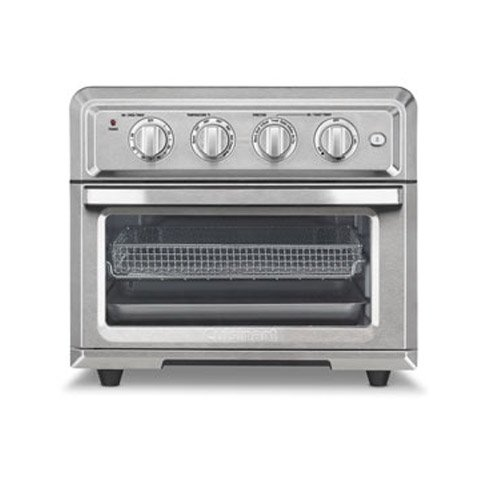 Cuisinart Toa 60 Air Fryer Toaster Oven With Light Silver