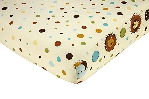 ddler Fitted Crib Sheet ()