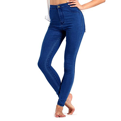 June-Julien-Womens-Basic-Jeans-Jeggings-Stretch-Denim-Skinny-Pants