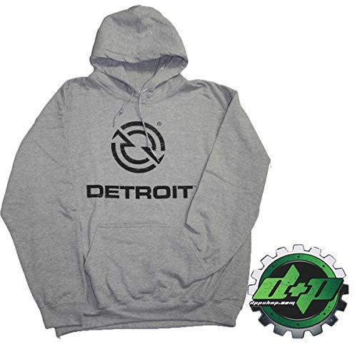 069fbae14ed Diesel Power Plus Detroit Demand semi Hoodie Sweat Shirt Sweatshirt Hooded  Sweater Truck Medium