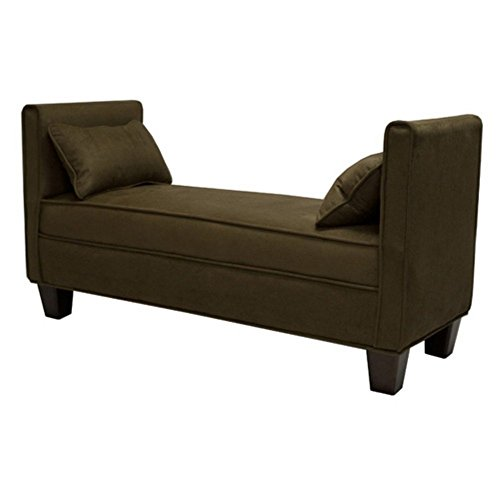 Bradford Upholstered Bench with Pillows