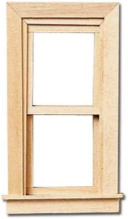 Dollhouse Furniture Wooden Up/&Down Sliding Window 1:12 Miniature DIY Accessory