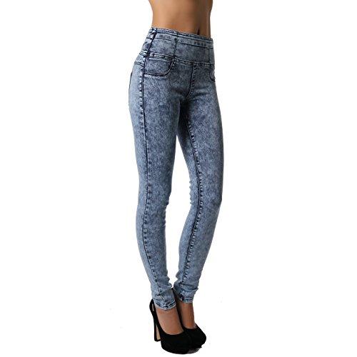 Crazy Age - Pantalon - Femme bleu acid Jeansblau