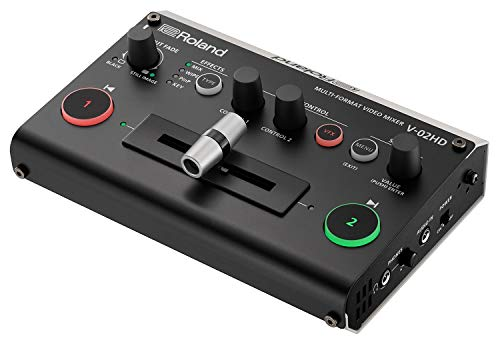 Roland V-02HD Multi-Format HD Video Mixer (4 Channel Video Mixer)
