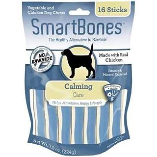 SmartBones Chicken Dog Chews Calming (16 Sticks)