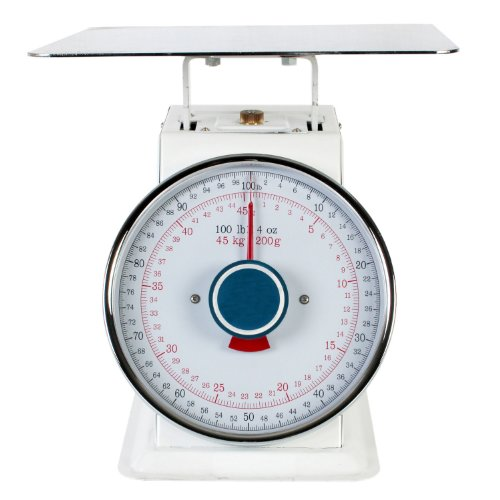 Platform Scale Dial - Excellante 100-Pound Mechanical Scales