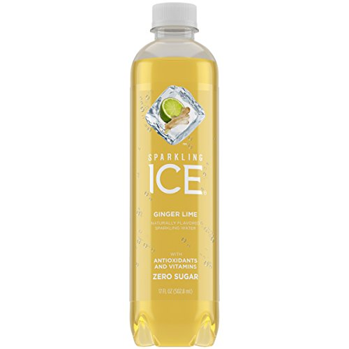 - Sparkling Ice Ginger Lime, 17 Ounce Bottles (12 Count)