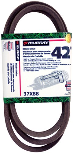 - Murray 42 Lawn Mower Blade Belt '97 & Up 37X88MA