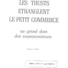 Les trust etranglent le petit commerce
