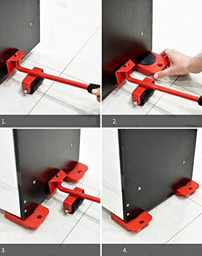 家具輸送セット 軽がるキャリー 重量物 移動用 除去リフト 移動ツール 引っ越し 大掃除 便利 グッズ 5点セット