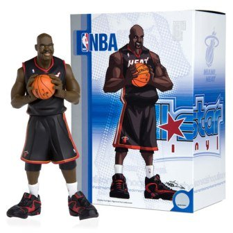 (UD NBA All-Star Vinyl Heat Shaquille O'Neal Black Jersey)