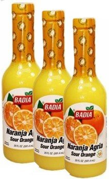 Badia Orange Bitter - Naranja Agria 10 oz -Pack of 3