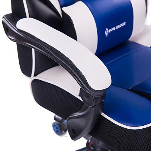 Von Racer Massage Reclining Gaming Chair Ergonomic High