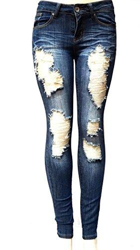 Juniors Denim Blue Jeans - 3