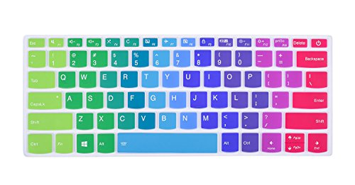 Colorful Keyboard Silicon Protector Rainbow