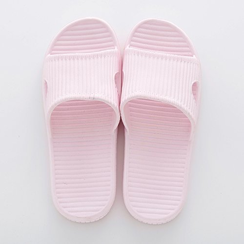 anti slippers fankou 39 38 bath stay home summer women soft slip slippers Pink slippers muted male Wooden bath floors and indoor OHqT4rO