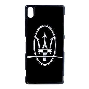 Maserati logo_001 TPU Cell Phone Case For Sony Xperia Z3 Black
