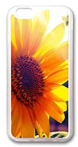 iPhone 6 Cases, Sunflower Sunshine Custom Design TPU Case Cover for Apple iPhone 6 with 4.7 inch Screen TPU Transparent by runtopwell
