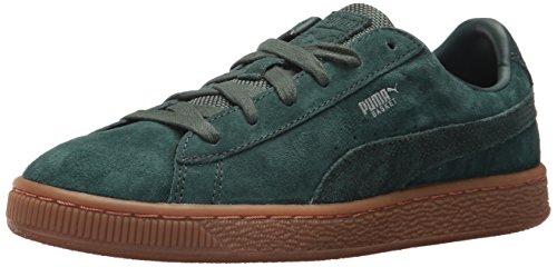 PUMA Baby Basket Classic Weatherproof Kids Sneaker, Green Gables-Green Gables, 10 M US - Gables Store