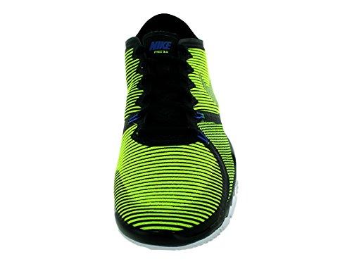 Nike Menns Free Trainer 3.0 V4 Trening Sko Svart / Volt-kaktus-hvitt