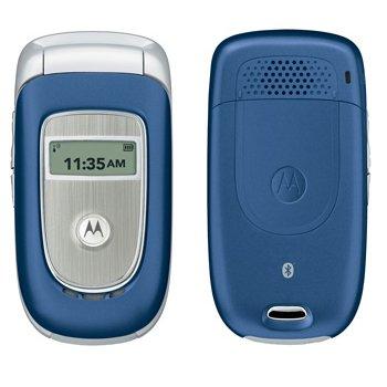 Motorola V195S Flip Phone Blue (T-Mobile)