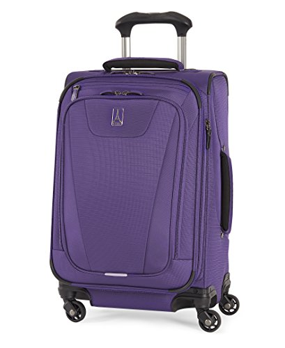 Luggage Wheel 4 Expandable (Travelpro Maxlite 4 Expandable 21 Inch Spinner Suitcase, Purple)