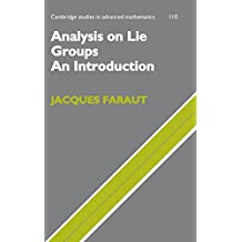 Analysis on Lie Groups: An Introduction