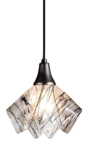 (Meyda Tiffany 10028 Metro Fusion Branches Handkerchief Mini Pendant Light Fixture, 9