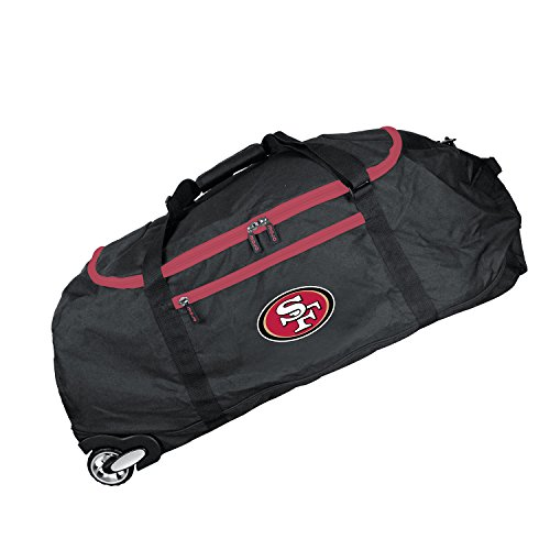 NFL San Francisco 49ers Crusader Collapsible Duffel, 36-inches