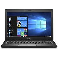 Dell Latitude 7280 Intel Core i7-7600U X2 2.8GHz 16GB 512GB SSD 12.5 Win10, Black (Certified Refurbished)