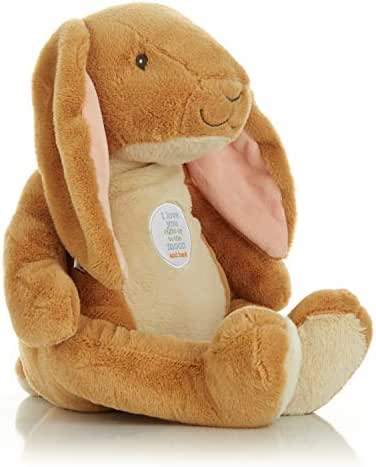KIDS PREFERRED Guess How Much I Love You - Nutbrown Hare Stuffed Animal Plush Toy, 15.5 Inches