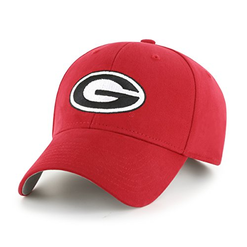 Georgia Bulldogs Apparel (NCAA Georgia Bulldogs Kid's Cinch OTS All-Star Adjustable Hat, Red, Kid's)