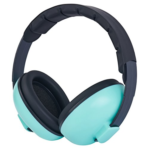 Zoom Time Baby Toddler Safety Noise Cancelling Ear Protection Ear Muffs BEST Hearing Protection Ages 0-2+ Years Old One Piece Design