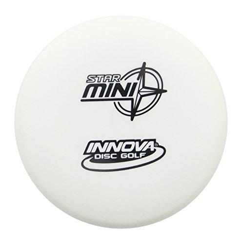 Innova Star Disc Golf Mini Marker Disc (White Innova Star)