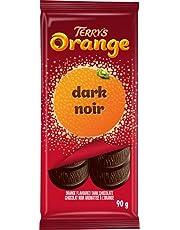 Terry's Orange - Original Bar - Orange Flavoured Dark Chocolatey Confection, 90 Grams, (Pack of 1)