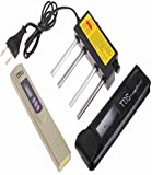 Aameria Digital TDS Meter & Electrolyzer Check Water Purity/Quality Tester