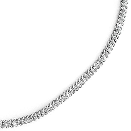 1 CTTW Diamond Tennis Bracelet in 10KT Gold