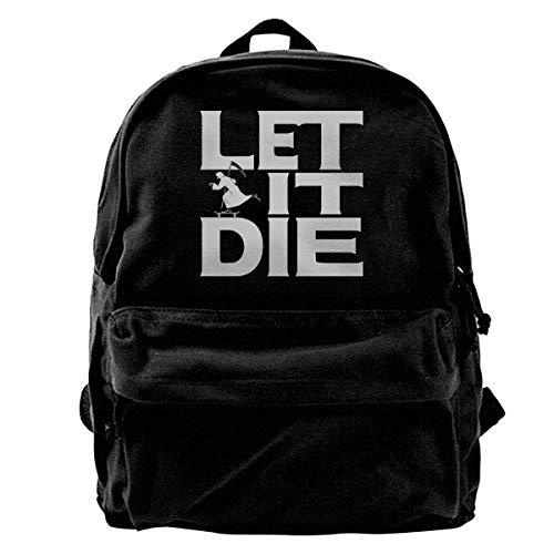 Backpack It amp; Women Ypack College Logo Men Let Shoulder Die Canvas Black Teens Travel Rk For 0RwqnFz