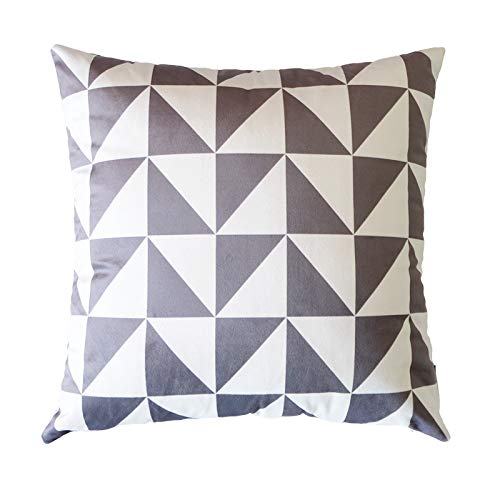 Viento nórdico almohada terciopelo almohada geometría ...