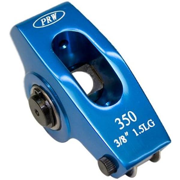 0335001 PRW Aluminum Roller Rocker Arms SB Chevy 262-400 1.5 x 3//8