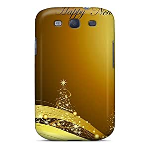 Durable Case For The Galaxy S3- Eco-friendly Retail Packaging(cartolina Happy New Year)
