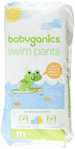 babyganics Color Changing Disposable Swim Diaper (Medium)