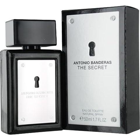 The Secret Eau De Toilette Spray Men by Antonio Banderas, 1.7 Ounce - Antonio Banderas Fragrances