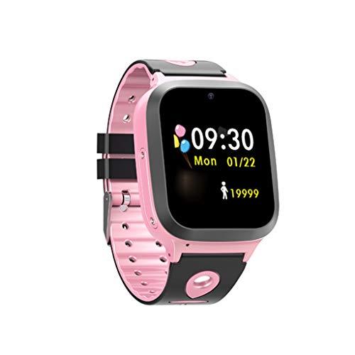 (Nesee Kids Waterproof GPS Smartwatches Phone - WiFi GPS LBS Tracker Locator 1.44